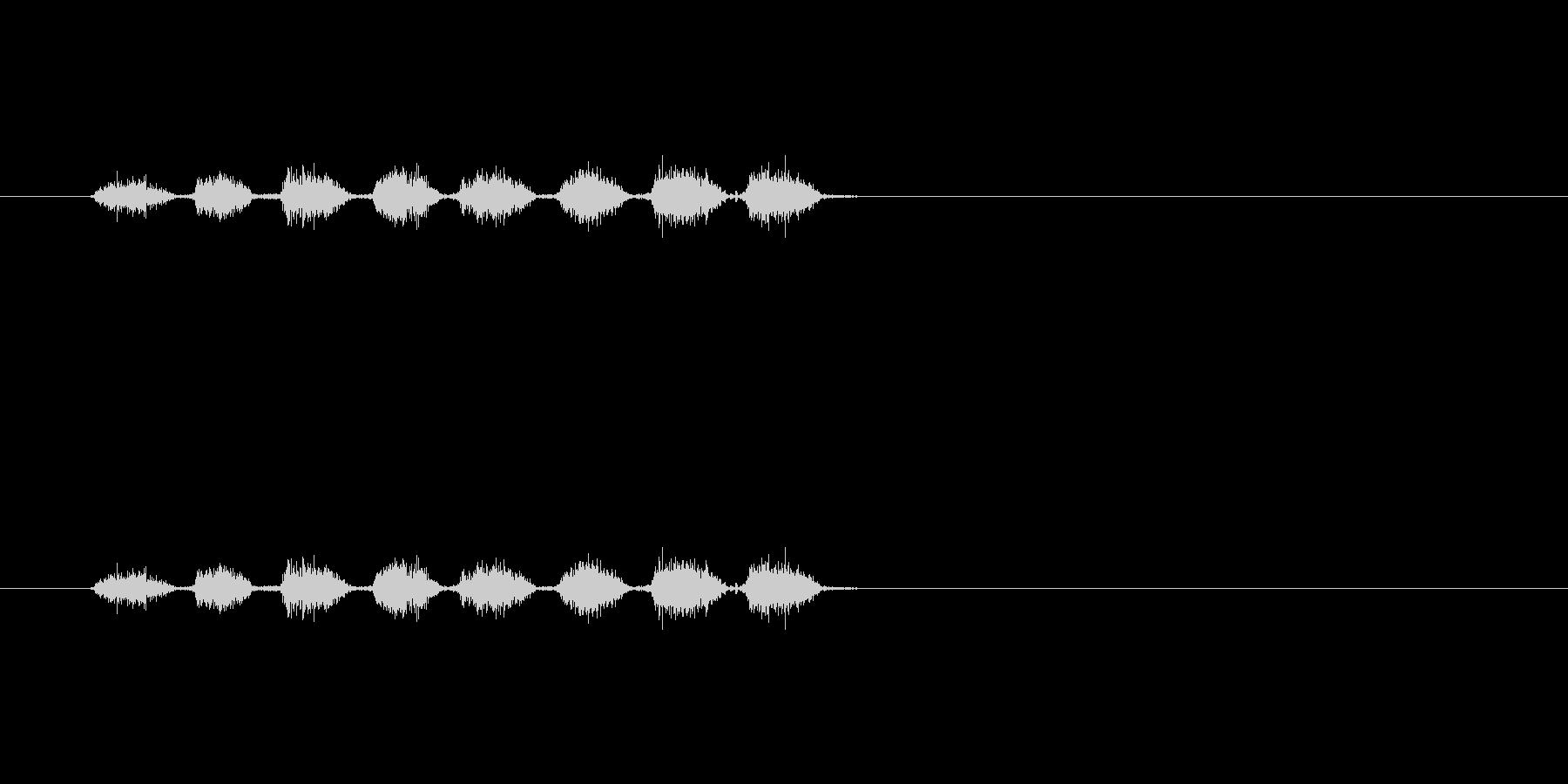 【消しゴム01-5(こする)】の未再生の波形