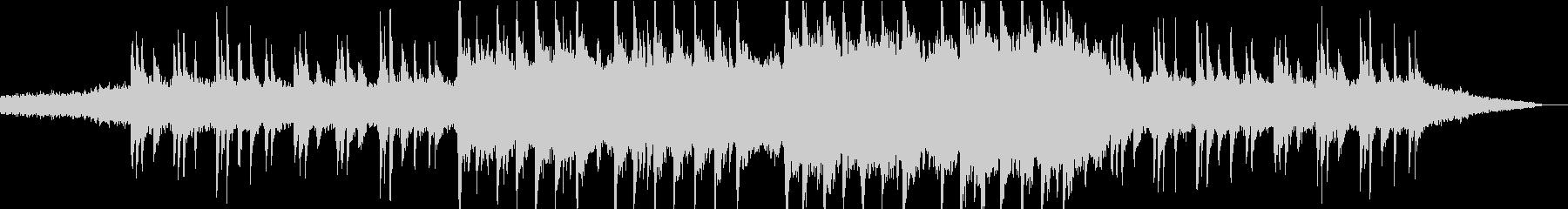 現代的 交響曲 アンビエント 透明...の未再生の波形
