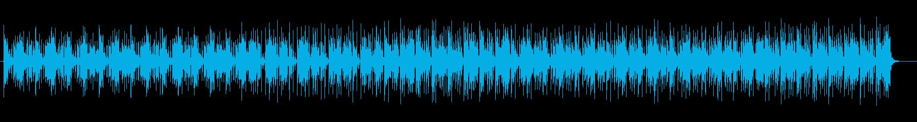 ファンタジーでおしゃれなシンセテクノの再生済みの波形