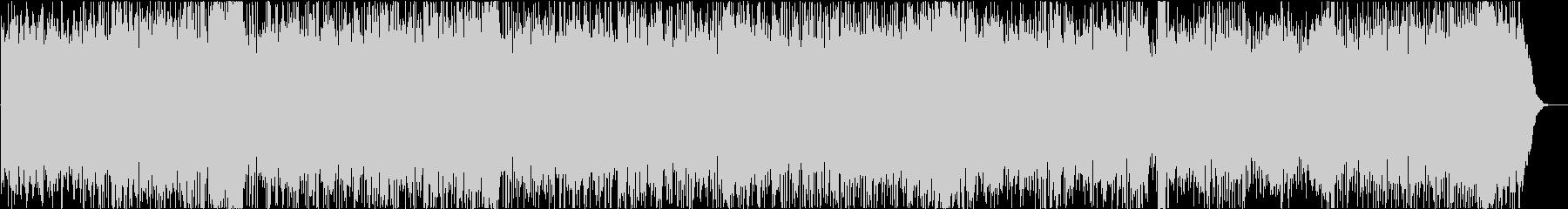 ラテン調のジャズワルツBGMの未再生の波形