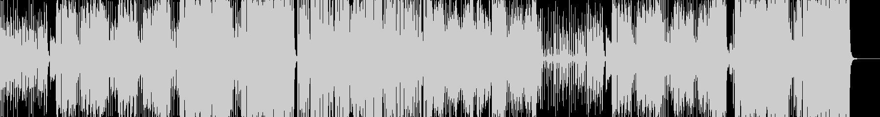 南国の陽気なボサノバ(コーラス入り)の未再生の波形