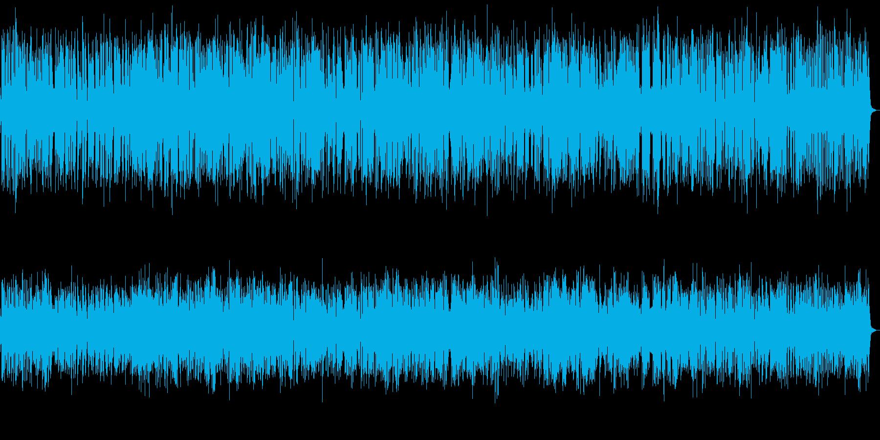 かっこいいおしゃれなジャズピアノトリオの再生済みの波形
