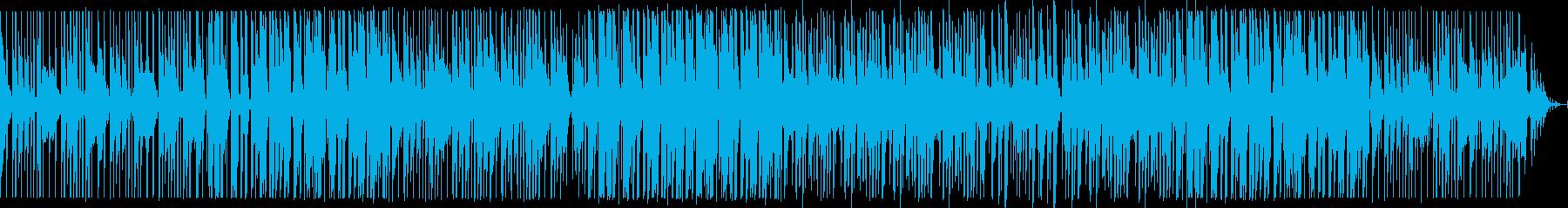 テクノ 日常 少しコミカルで軽めのビートの再生済みの波形