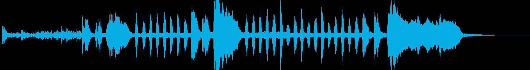 小太鼓ロール付ファンファーレ楽隊風の再生済みの波形