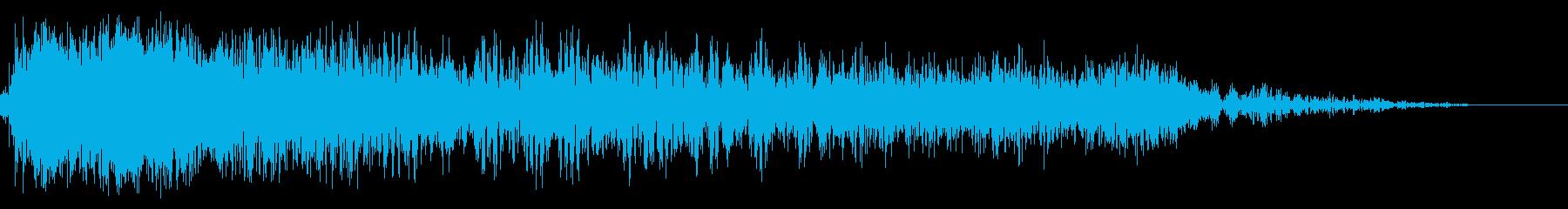 スペースマシンまたはラージオブジェ...の再生済みの波形