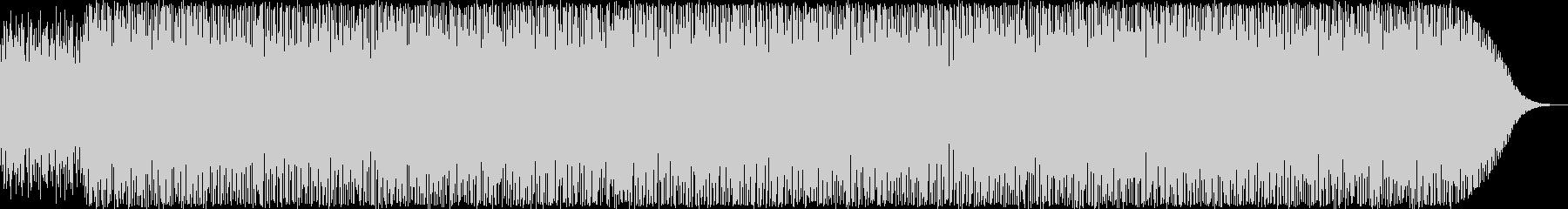 ジャズ・ソウルテイストのハウス・EDMの未再生の波形