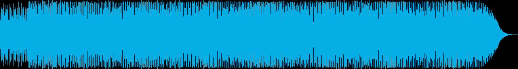 ジャズ・ソウルテイストのハウス・EDMの再生済みの波形