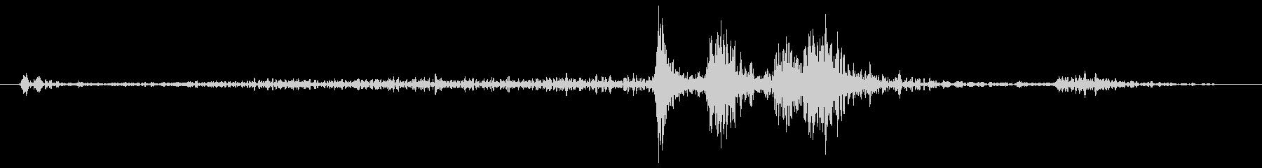 レジ1の未再生の波形