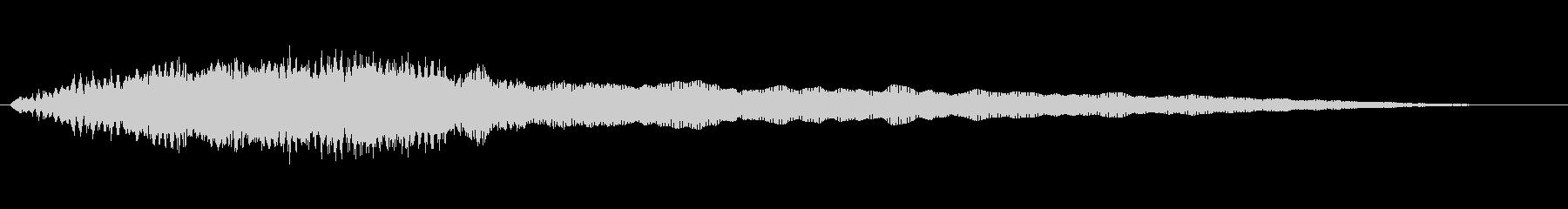素材 ソフトハムドローンディープ01の未再生の波形