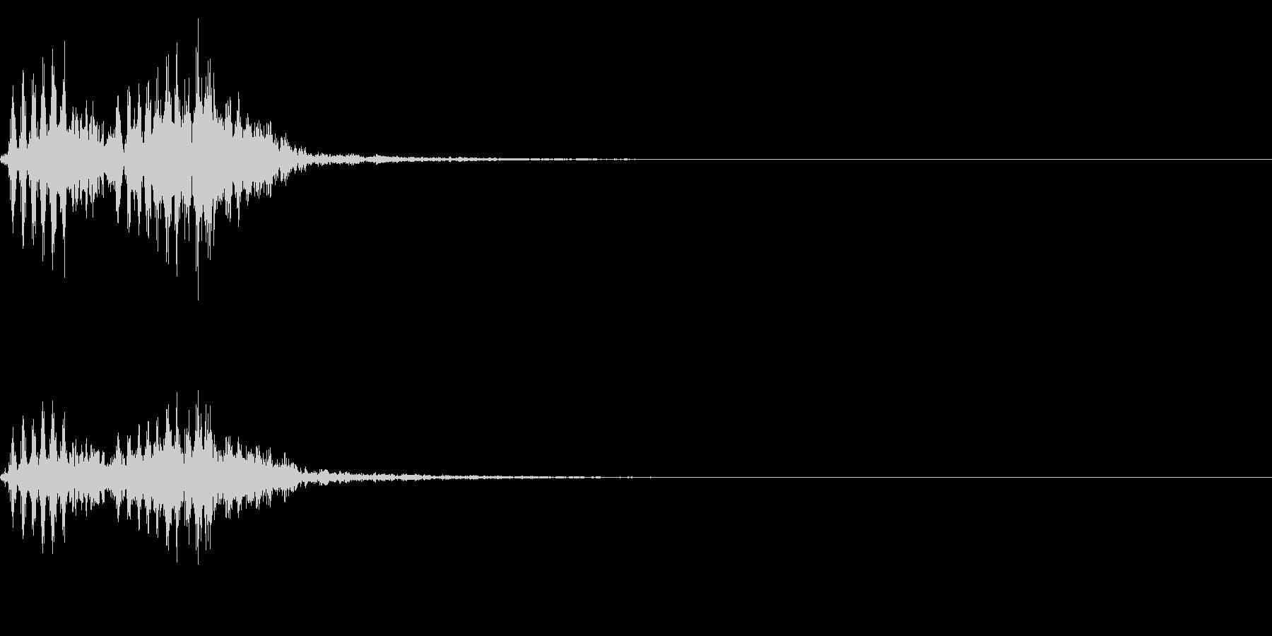 【生録音】フラミンゴの鳴き声 29の未再生の波形