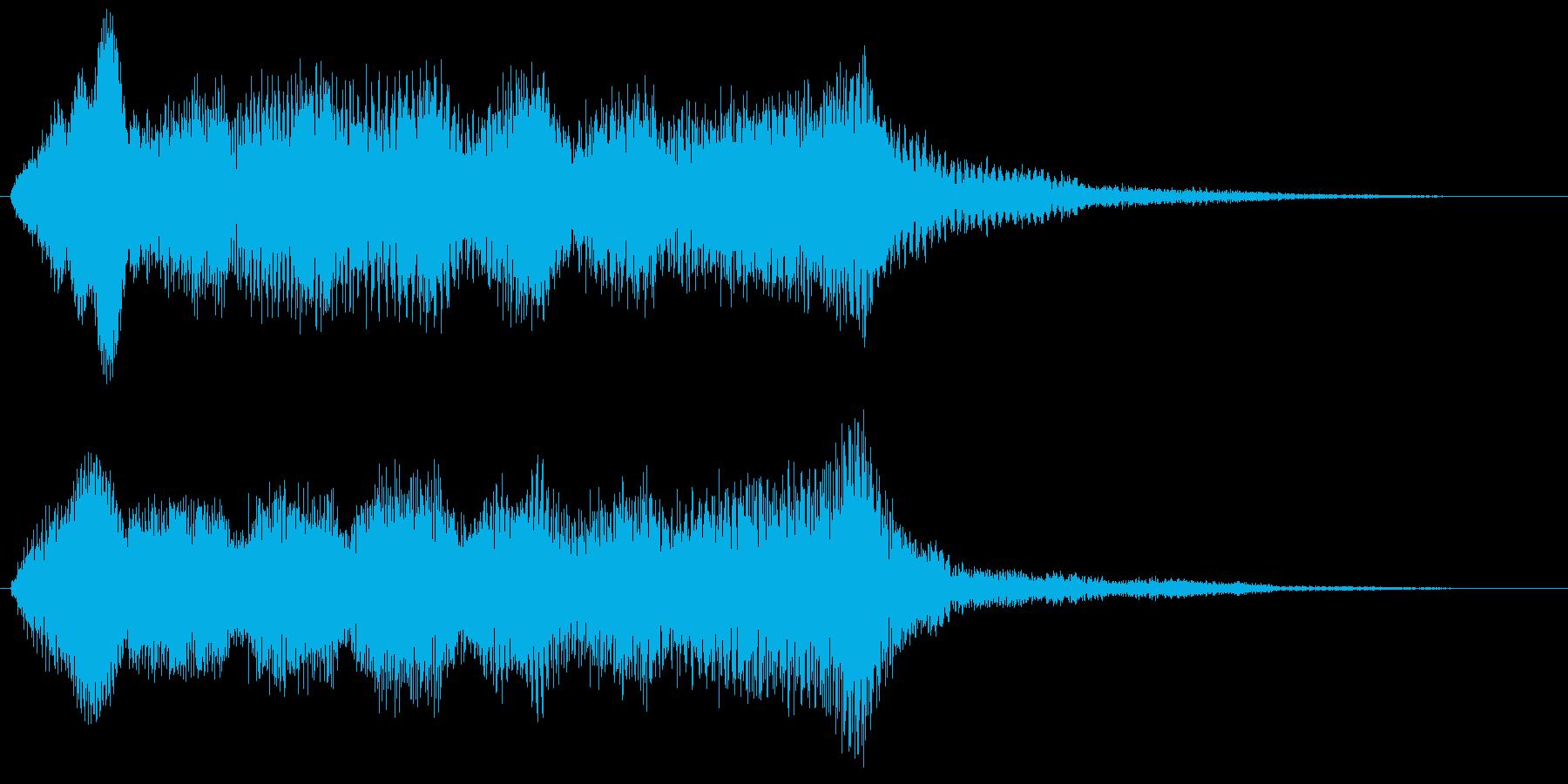 バイオリンフレーズ ゲームオーバー 残念の再生済みの波形