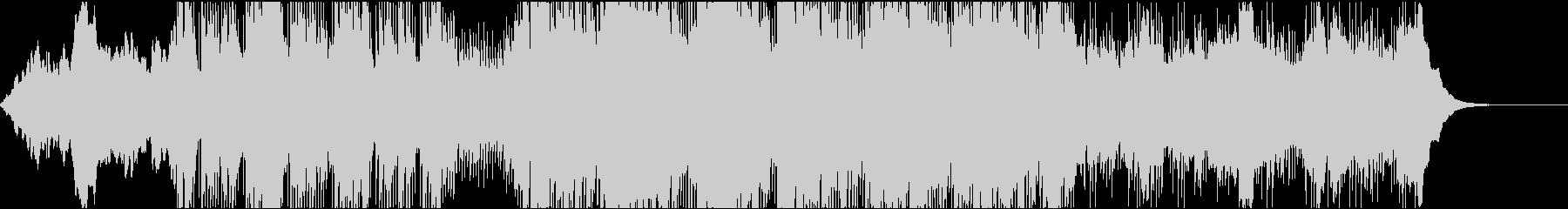 ダークでノイジーなインダストリアルの未再生の波形