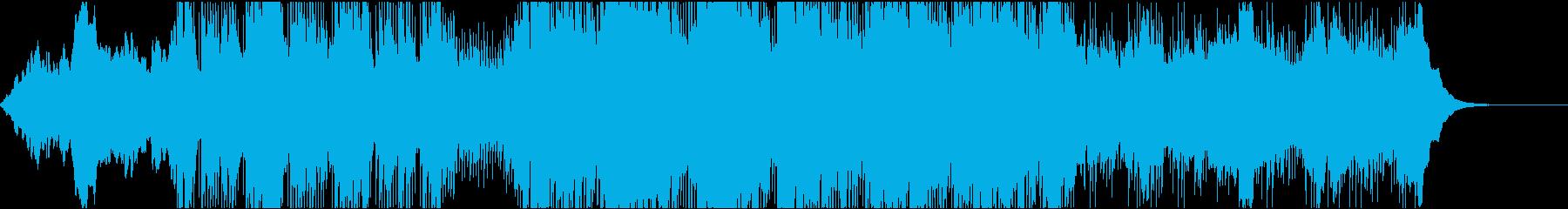 ダークでノイジーなインダストリアルの再生済みの波形