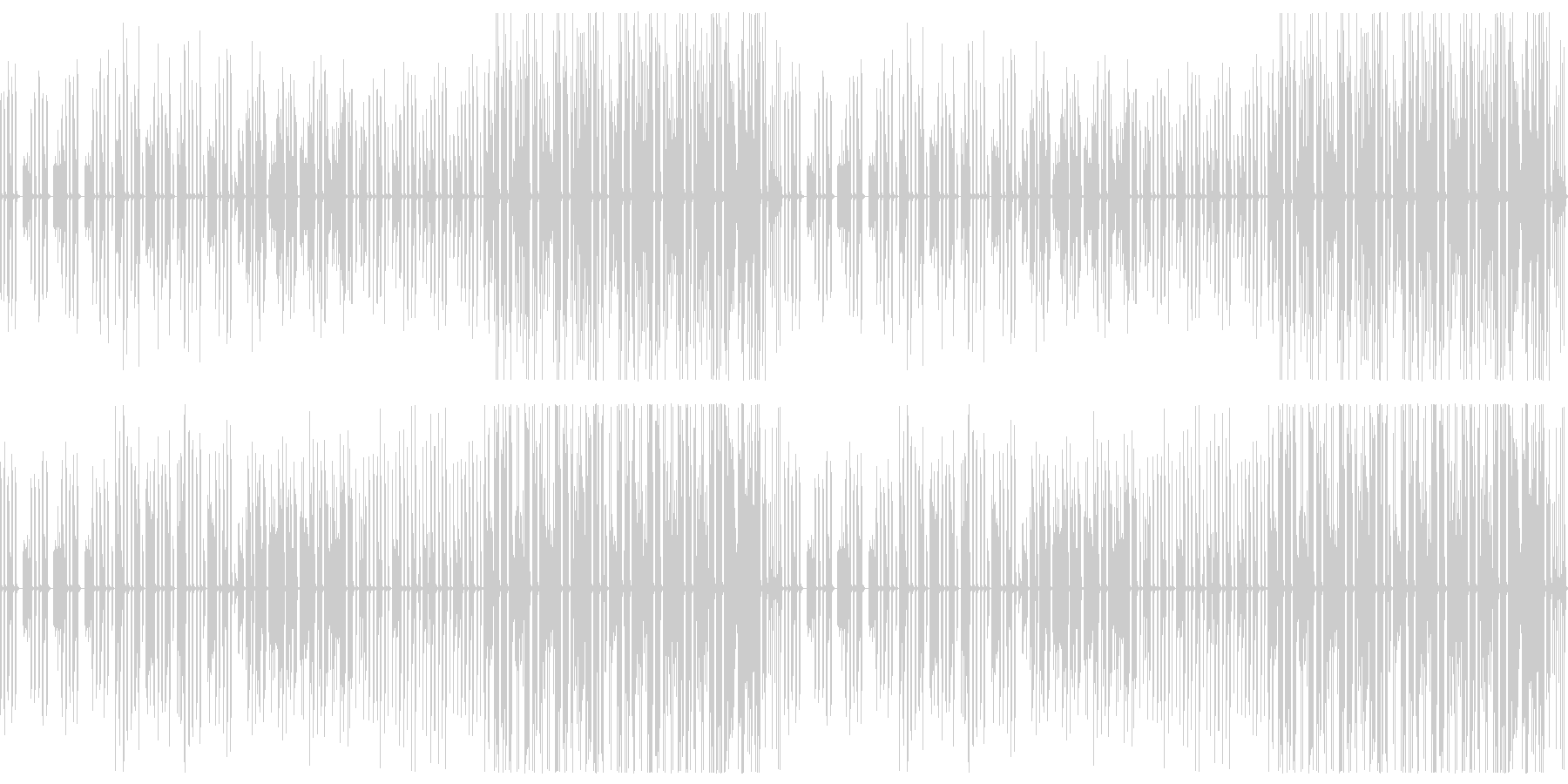 まったり・のんびり・日常/ループ仕様の未再生の波形