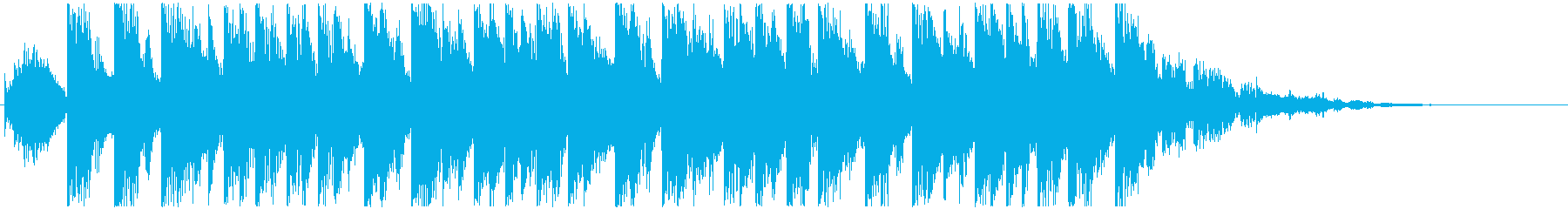 コーナータイトル_NEXT_DANCEの再生済みの波形