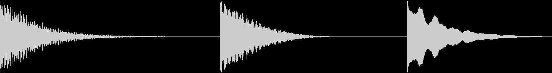 ベルヒット、3バージョン、インパク...の未再生の波形