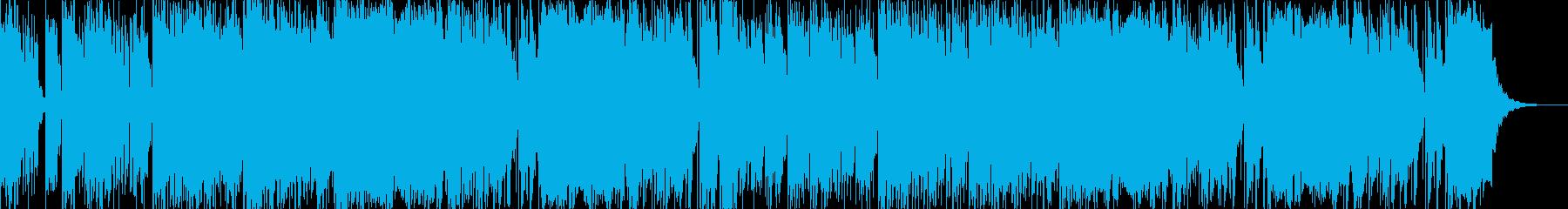 ゆったりしたローファイなHiphopの再生済みの波形