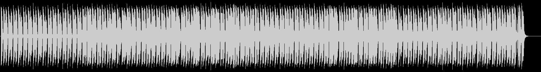不思議でおもしろいBGMの未再生の波形