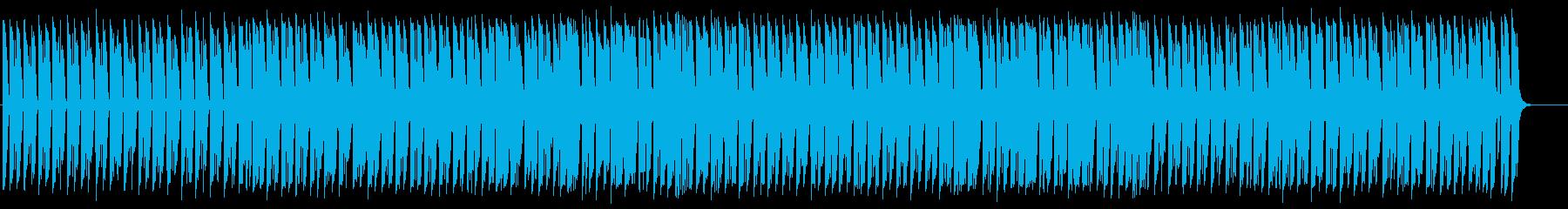 不思議でおもしろいBGMの再生済みの波形