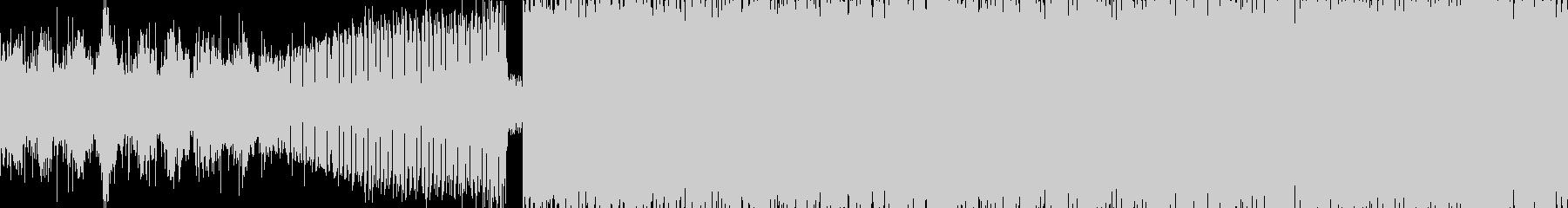 幻想的シンセ・ポップ・癖になるループ素材の未再生の波形
