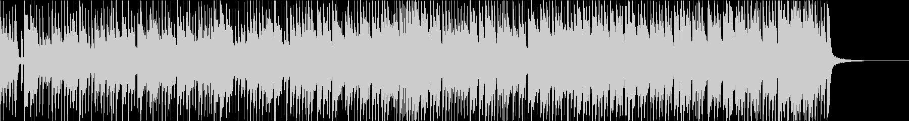 ロック感のあるピアノジャズ【おしゃれ】の未再生の波形