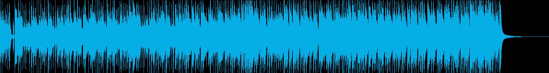ロック感のあるピアノジャズ【おしゃれ】の再生済みの波形