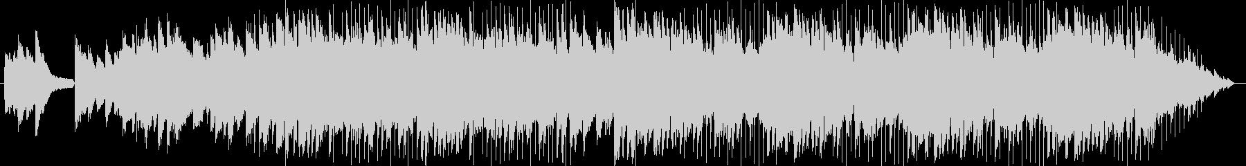 切ないエレキとピアノの未再生の波形
