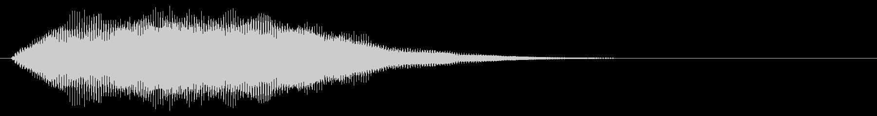 クラブ系 タッチ音4(複)の未再生の波形