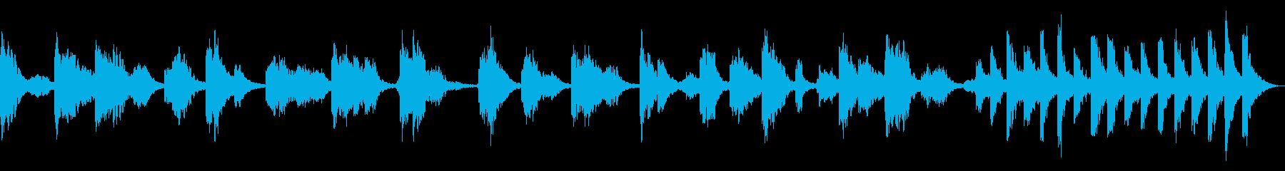 リラクゼーションアンビエントの再生済みの波形