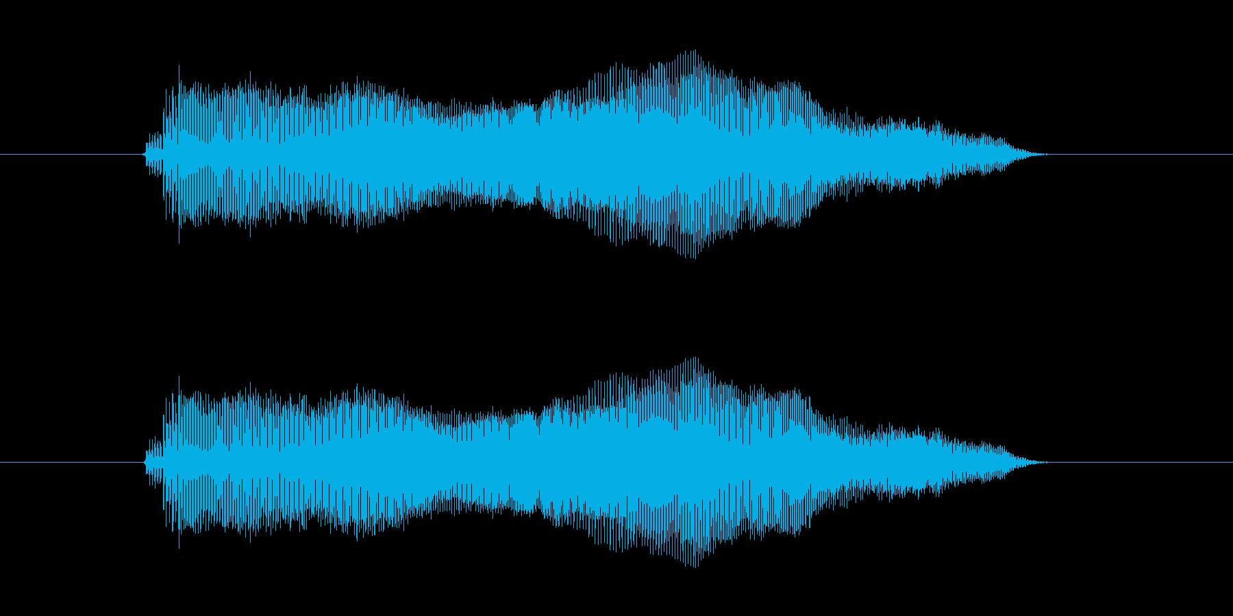 えいえい の再生済みの波形