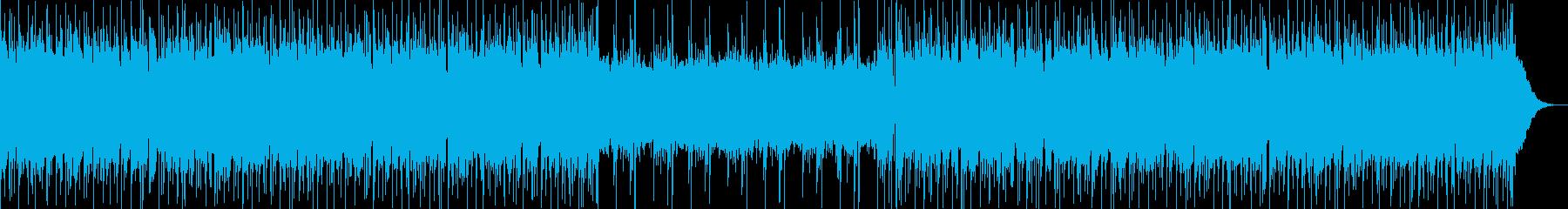 ヒーローが出てきそうなかっこいいBGM4の再生済みの波形