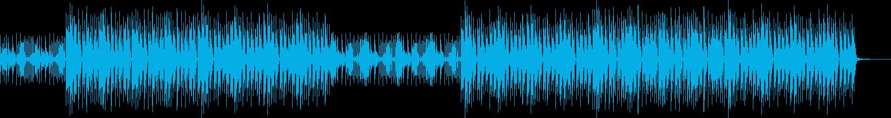 カントリーEDMハウス・おしゃれほのぼのの再生済みの波形