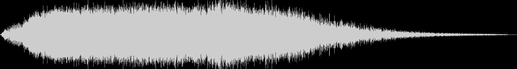 KANT怪獣の鳴き声Middle1の未再生の波形