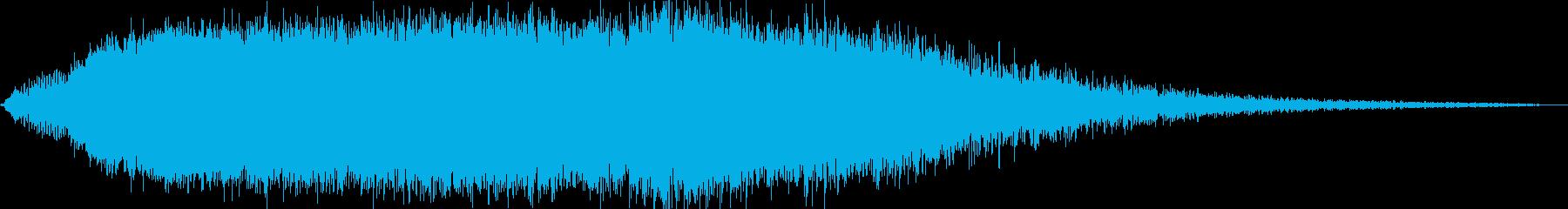 KANT怪獣の鳴き声Middle1の再生済みの波形