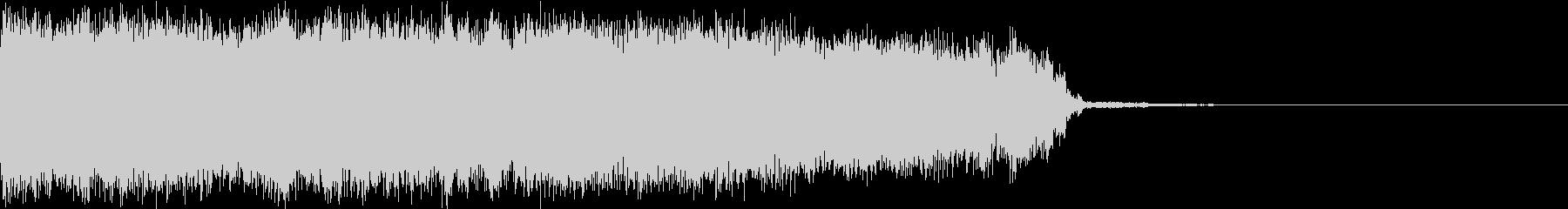 ロック ジングル 切り替わり 2の未再生の波形