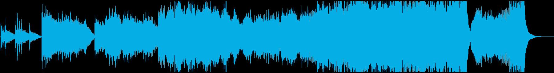 壮大なスケールのオーケストラサウンドの再生済みの波形