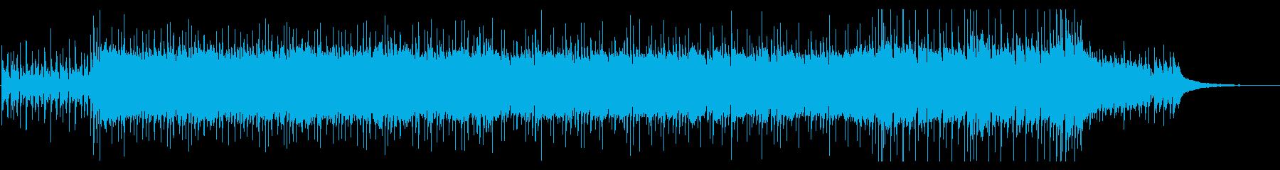 ストリングスが爽やかなポップス系BGMの再生済みの波形