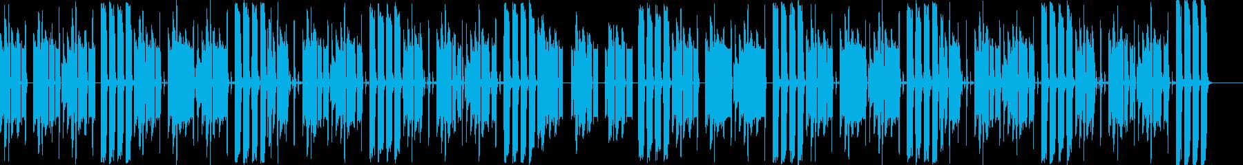 ゆったり、楽しい、ローファイの再生済みの波形