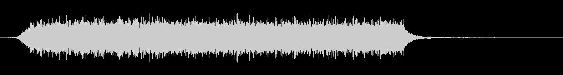 ヘアーブロードライヤー-吹くの未再生の波形