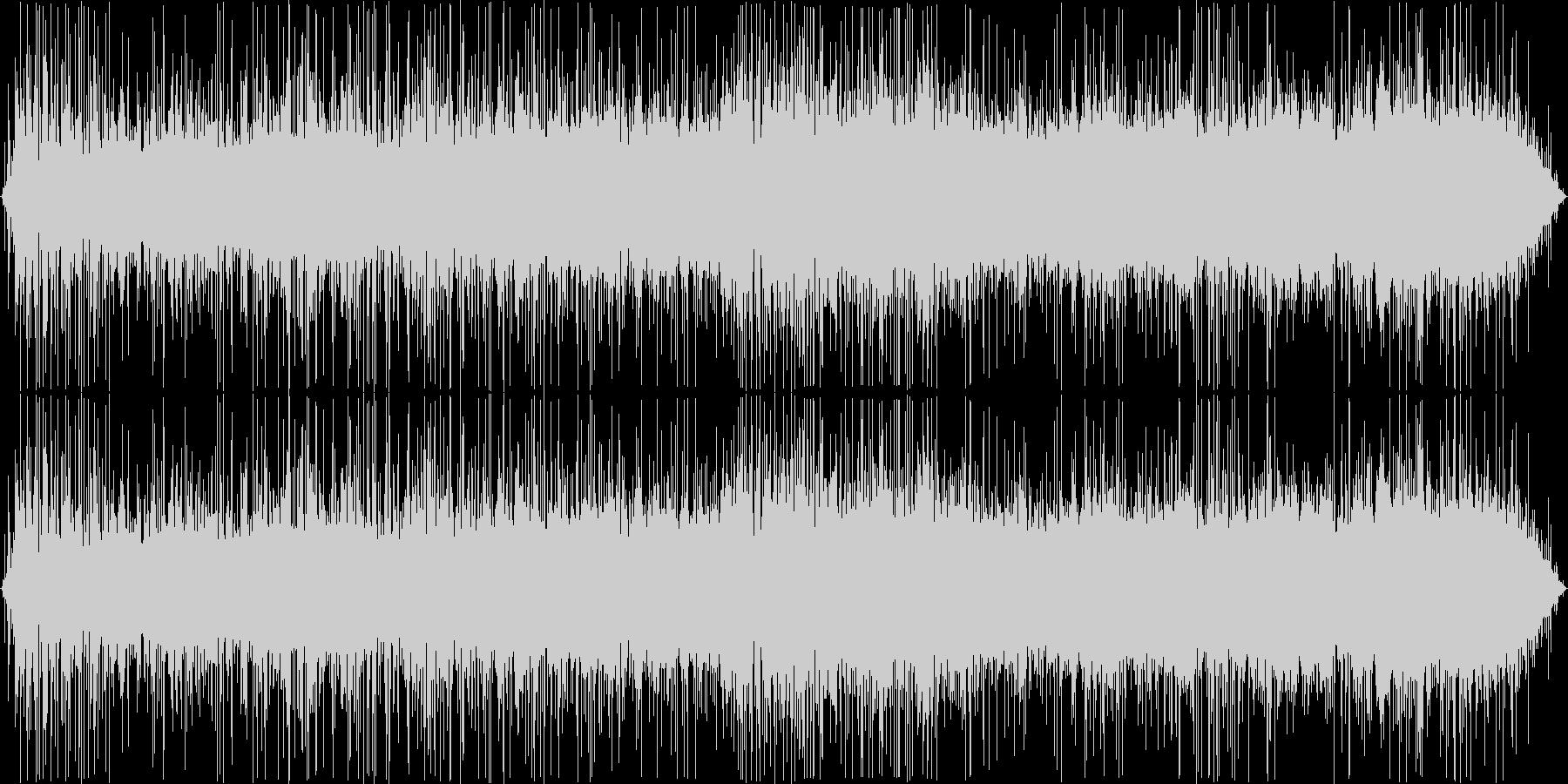 フライパンで炒める音の未再生の波形