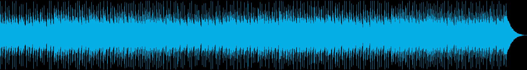 アップテンポで爽やかなウクレレの再生済みの波形