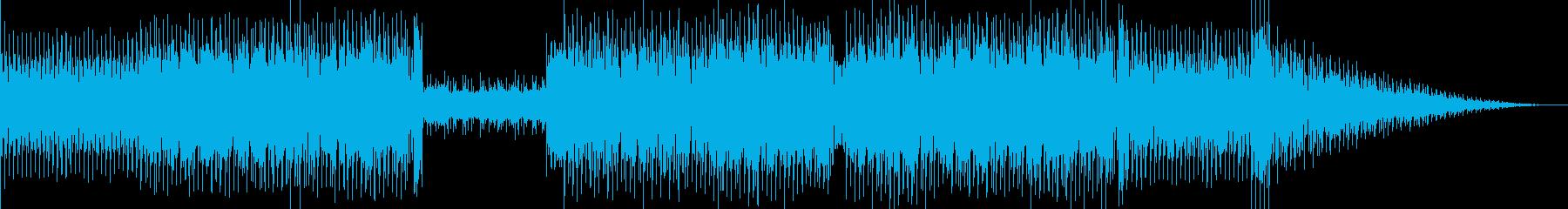 セミモジュラーテクノの再生済みの波形