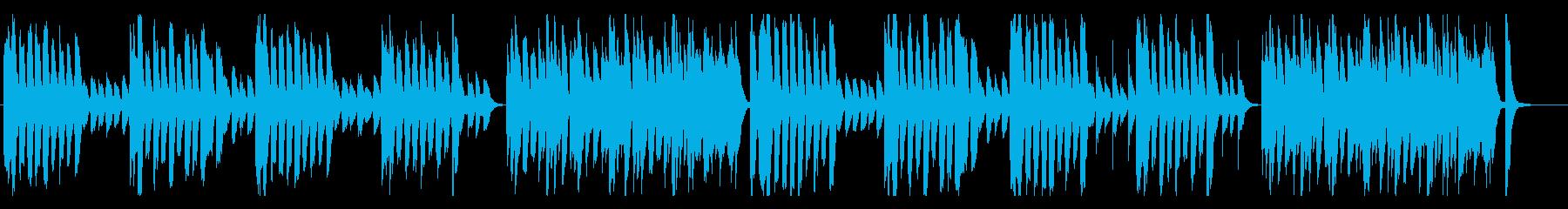リコーダーとピアノがかわいい、軽快の再生済みの波形