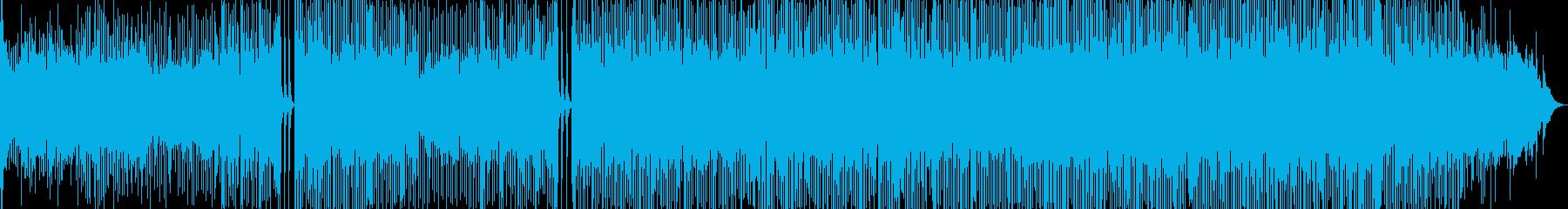 部族のラテンドラムを使用したディー...の再生済みの波形