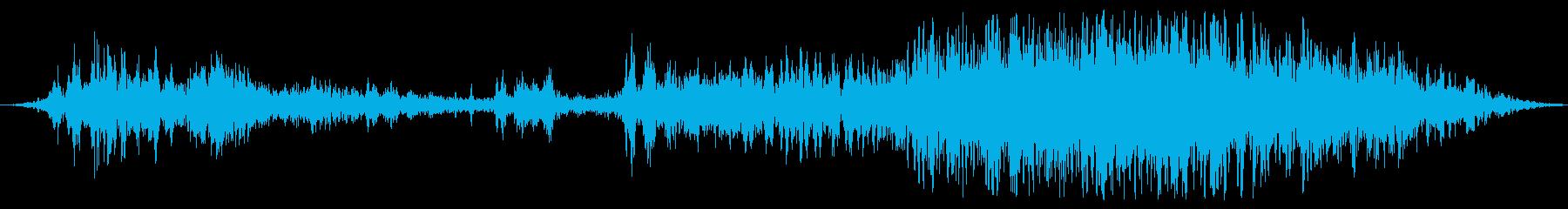 機械機構の動きの再生済みの波形