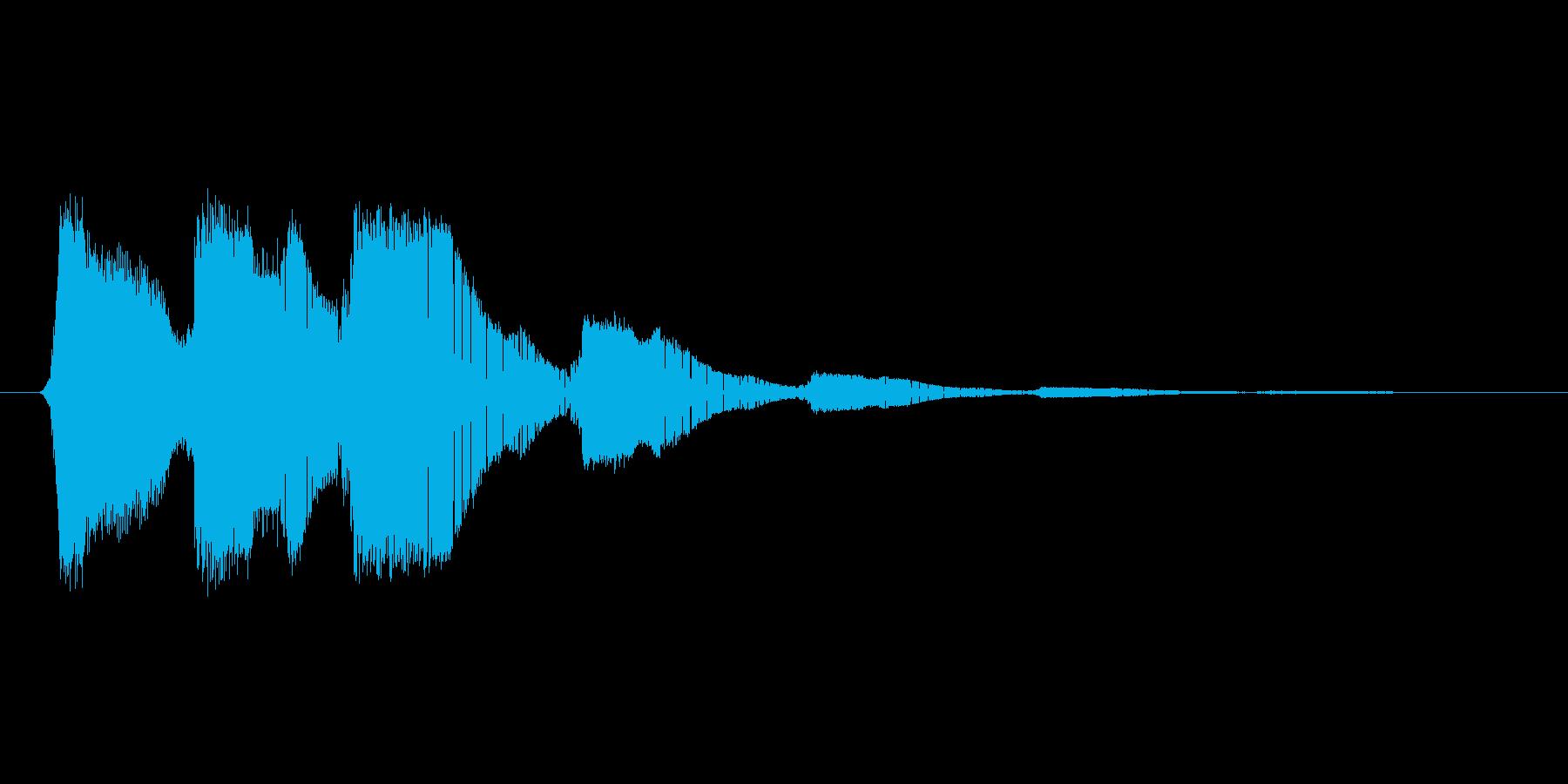 ファミコン風効果音 キャンセル系 04の再生済みの波形