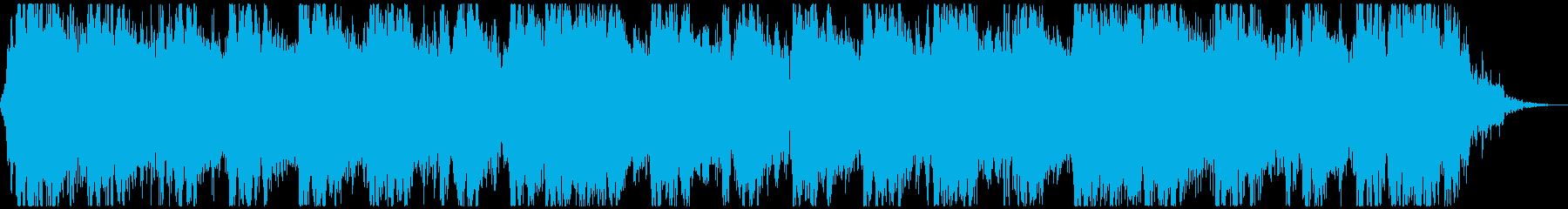 【30秒】スポーツに最適☆情熱的なロックの再生済みの波形