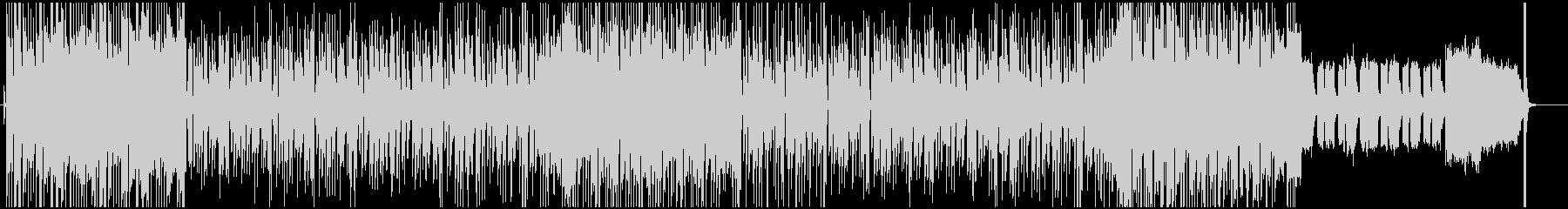 オルガンでルーツレゲエ調ポップスバラードの未再生の波形