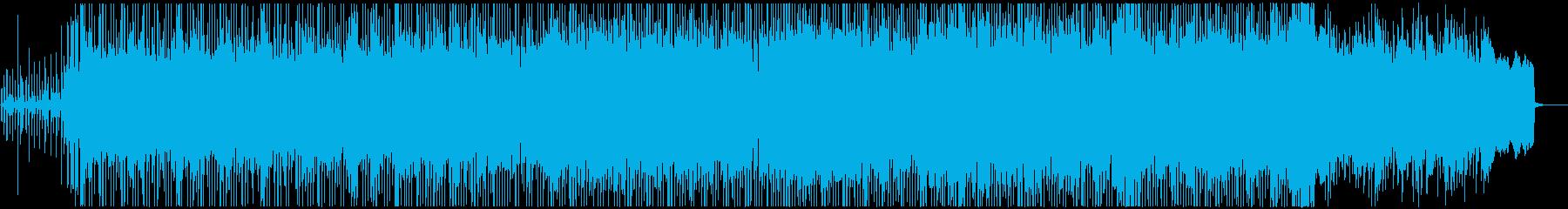 シンセとギターの心地よいフュージョン−1の再生済みの波形
