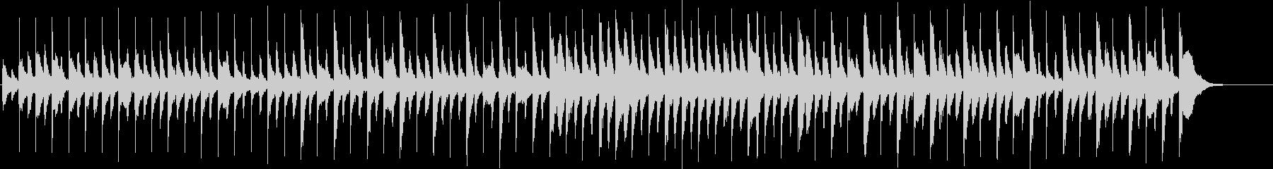 奇妙で軽快ハロウィン風ピアノ(SE無し)の未再生の波形